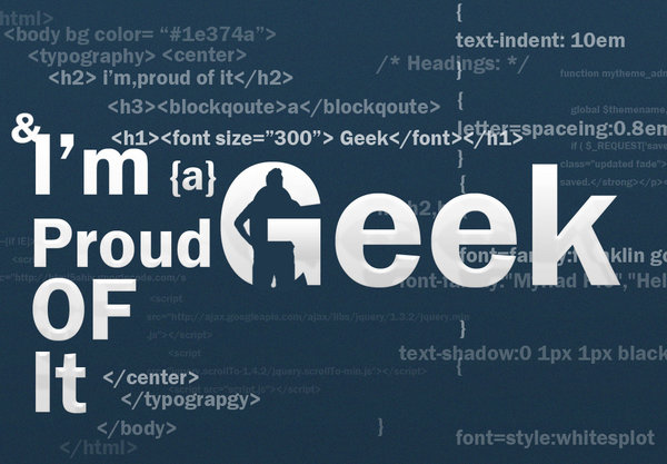 geek wallpaper. im a geek wallpaper by ~TheGraphicGeek