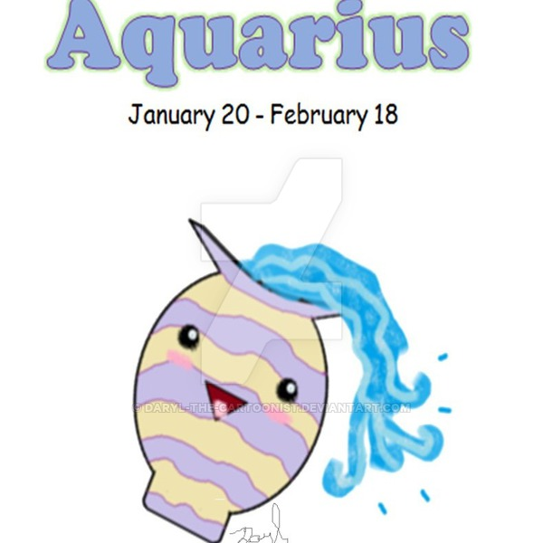 Aquarius by Daryl-the-cartoonist (print image)
