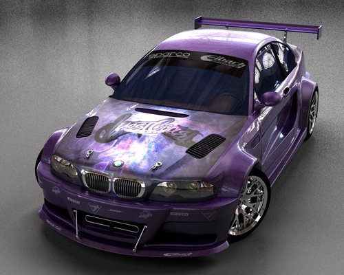 BMW M3 GTR West Coast Custom by ~stefanmarius